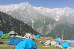 מחנה האוהלים שבפסגת הר הטריונד