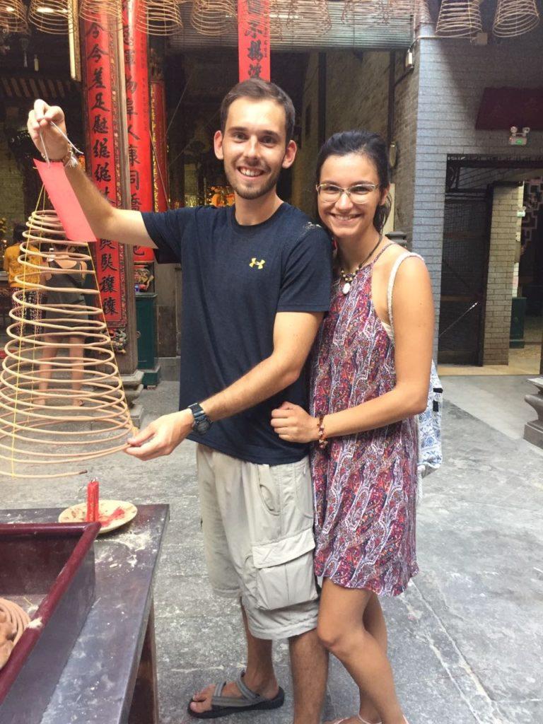 מקדש סיני בצ'יינה טאון של הו צ'י מין