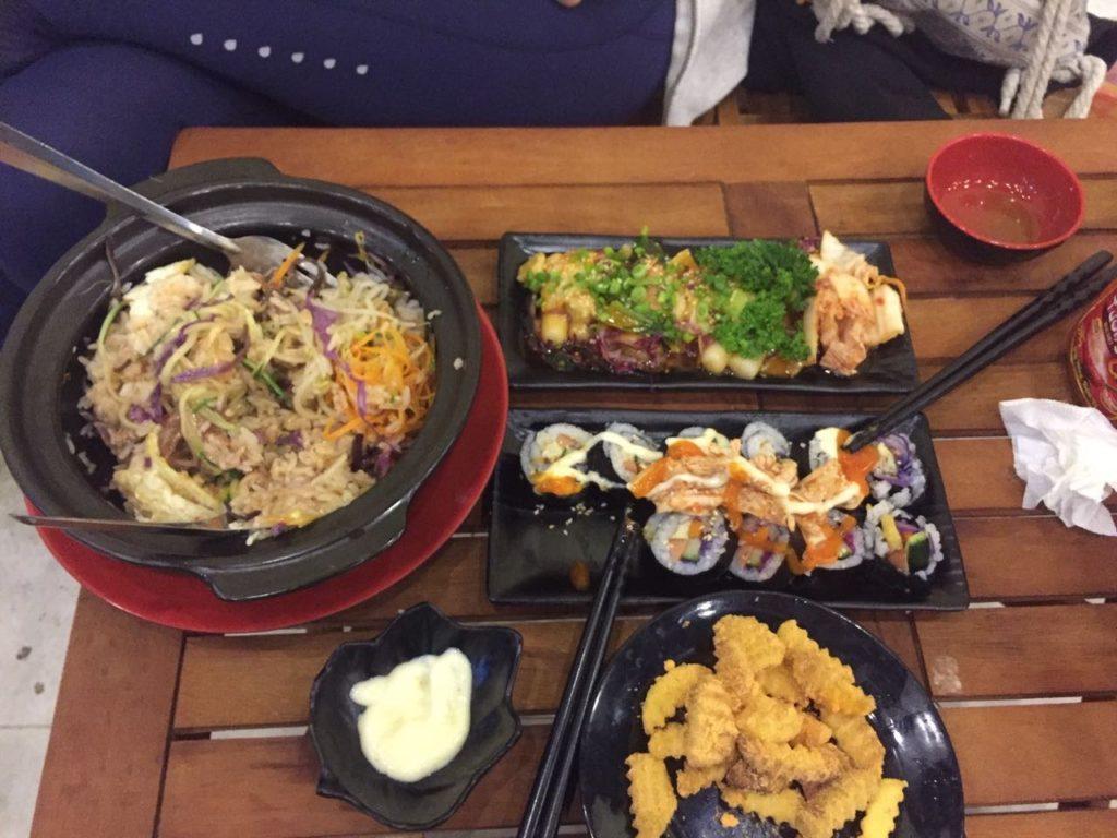 אוכל קוריאני בדה לאט