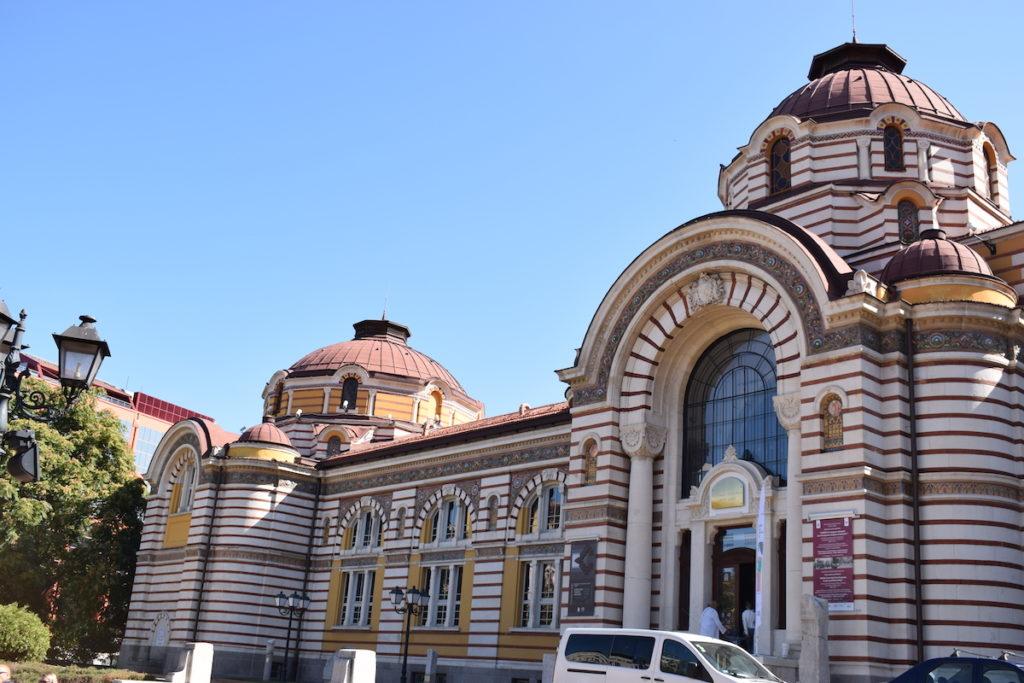המרחצאות של סופיה, כיום הבניין משמש כמוזיאון
