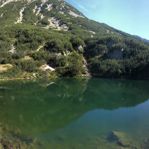 בנסקו מסלול קל מבקתת בנדריצה לעץ האשוח העתיק ביותר בבנסקו ולאגם אוקוטו