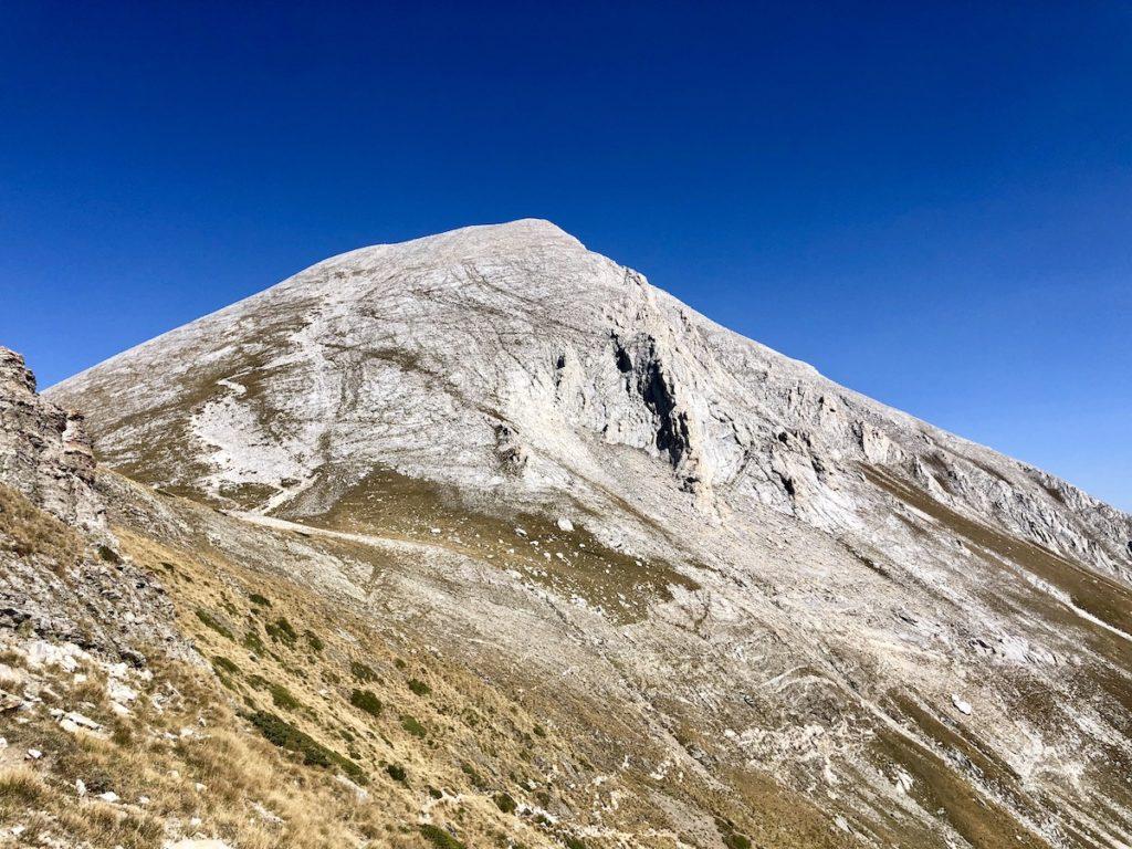 פסגת הר ויחרן מאמצע הדרך