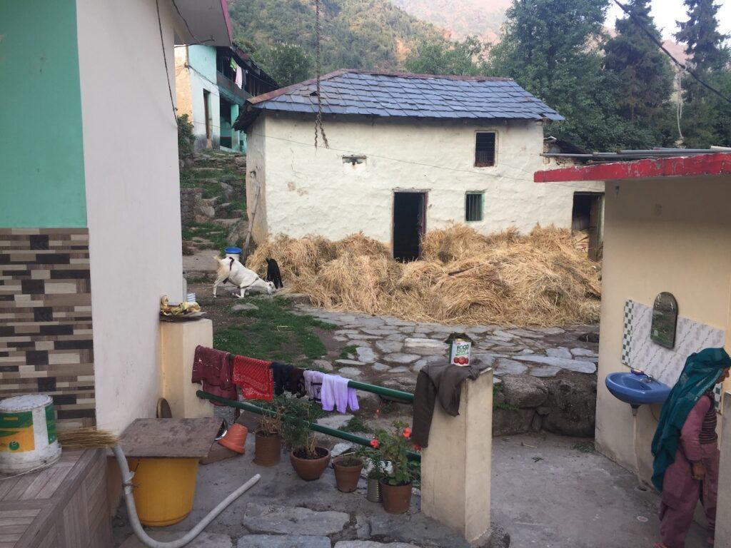 חצר טיפוסית בדראמקוט