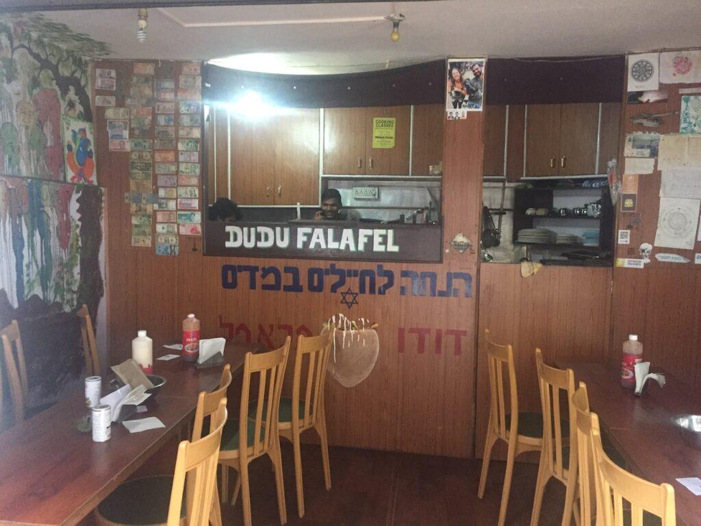 דודו פלאפל בדרמסאלה, למי שחסר קצת אוכל ישראלי בהודו