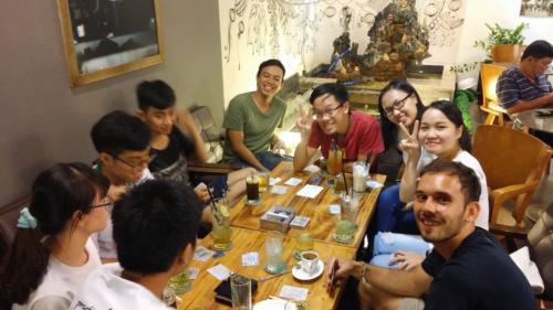 הסטודנטים שפגשנו בהו צ'י מין